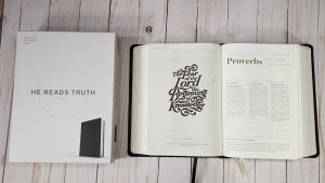 he reads truth bible for men genuine leather